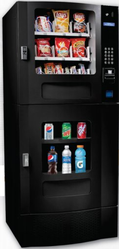 Seaga SM22 Combo Vending Machine