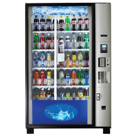 Dixie Narco BevMax 4 Drink Vending Machine